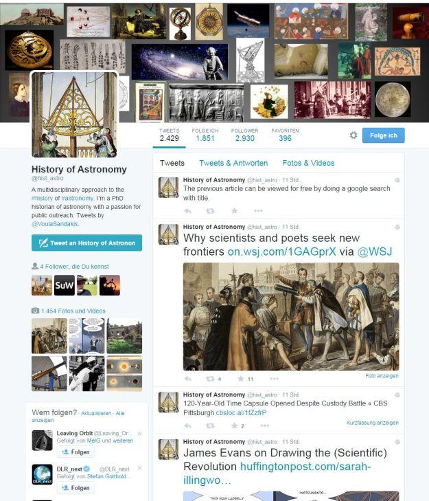 HistoryOfAstronomyTweets