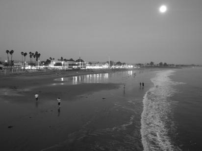 Santa Cruz/Mond am Vortag